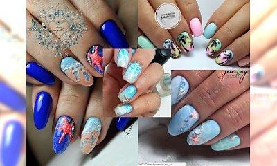 Plażowe wzory na paznokciach są hitem lata! Podsuwamy pomysły na wakacyjne hybrydy