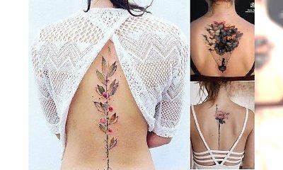 Magiczne tatuaże na plecy - te wzory Was zachwycą!