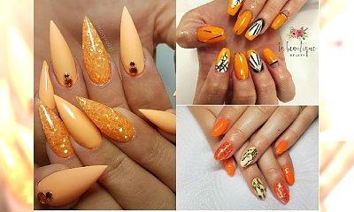 Manicure 2018: Pomarańcz i złoto - zakochasz się w tym połączeniu! Idealny manicure na lato!