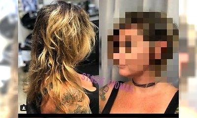 Ta fryzjerka czyni cuda! Fantastycznie odmieniła zniszczone włosy klientki