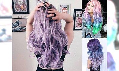 Kolorowe włosy idealne na jesienną chandrę - oryginalne koloryzacje!