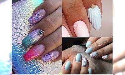 Manicure 2018: Muszelkowy manicure idealny na wyjazd nad morze! Poznaj ten uroczy trend