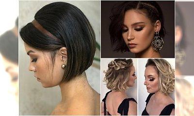 Krótkie fryzury na wesele. Jak niecodziennie wystylizować krótkie włosy?