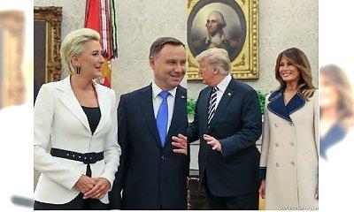Melania Trump i Agata Duda na jednym spotkaniu! Która wyglądała lepiej?