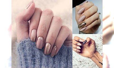 20 propozycji na nude manicure - klasyka w ciekawych odsłonach! [galeria]
