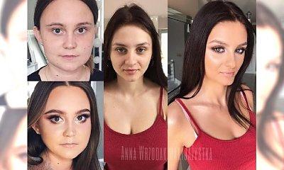 Ta polska makijażystka to prawdziwa artystka! Zobaczcie najlepsze metamorfozy zwykłych kobiet!