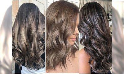 Smokey hair - gorący trend w koloryzacji włosów 2018