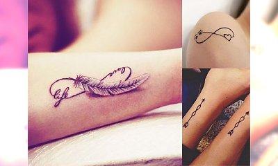 18 pomysłów na piękny i oryginalny tatuaż z symbolem nieskończoności