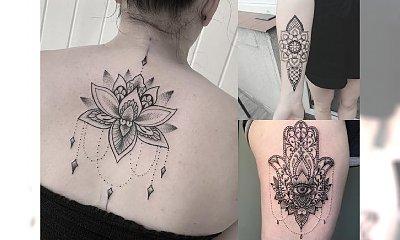Tatuaż mandala - najbardziej zmysłowe i kobiece wzory dla kobiet