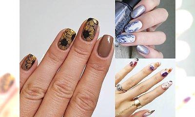 20 pomysłów na kwiatowy manicure - galeria stylowych zdobień