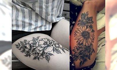 Tatuaż na udo - unikatowe wzory, które nigdy nie wyjdą z mody