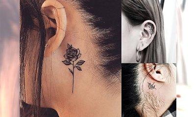 Tatuaż w okolicy ucha - przegląd oryginalnych i kobiecych wzorów