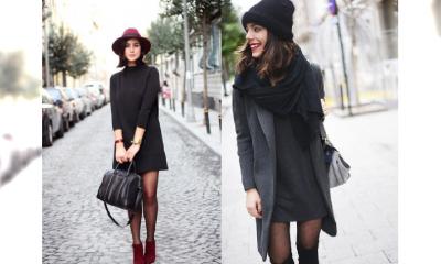 Czarna sukienka - kilka dodatków i jesień należy do Ciebie