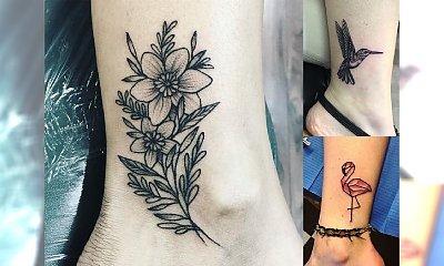Tatuaż w okolicy kostki - galeria pomysłowych i unikalnych wzorów, które Cię zachwycą