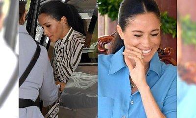 Uczesana Meghan Markle na Tonga pochwaliła się DWIEMA nowymi sukienkami. W której wyglądała LEPIEJ?