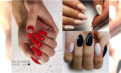 HOT TREND w manicure: paznokcie z napisami. Nowa moda podbija Instagram!