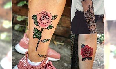 Tatuaż róża w 40 odsłonach! Zobacz te ultrakobiece wzory, które pokochasz!