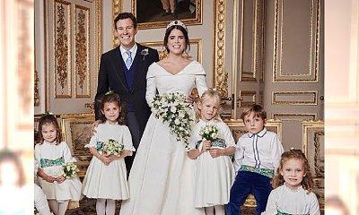 """Księżniczka Eugenia miała drugą suknię ślubną! Internauci coś zauważyli. """"To OKROPNE"""""""