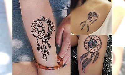Łapacz snów - 20 pomysłów na tatuaż z motywem, który pokochacie
