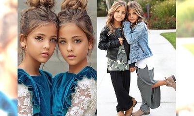 """Najpiękniejsze bliźniaczki to wschodzące gwiazdy Instagrama. """"Pozwólcie im być dziećmi!"""", apelują do rodziców internauci..."""