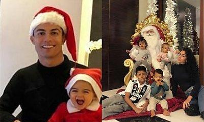 Tak cieszy się ze swoich pierwszych świąt córeczka Cristiano Ronaldo. Zobaczcie, jak urosła!