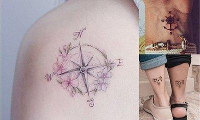 Tatuaże z motywem podróży - galeria wzorów dla prawdziwych podróżniczek