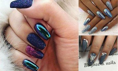 Sylwestrowy manicure - przegląd modnych pomysłów z sieci
