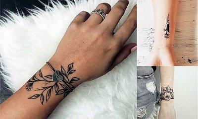 Tatuaż na nadgarstek - galeria unikatowych wzorów dla kobiet