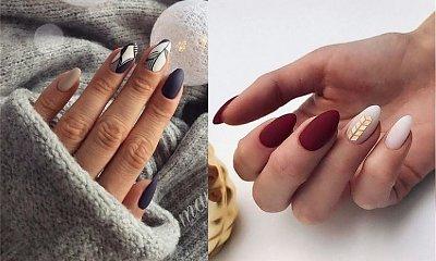 Matowy manicure - 20 niebanalnych stylizacji paznokci
