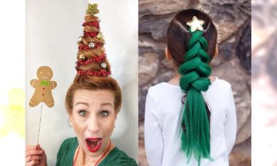 Wigilia już tuż tuż, a Ty nie masz pomysłu na świąteczną fryzurę? Koniecznie wypróbuj to upięcie!