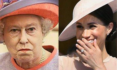 Królowa ma DOŚĆ! Elżbieta II po raz pierwszy interweniuje w sprawie Meghan Markle