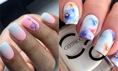 Hit w manicure: AKWARELOWE WZORY. Nowy trend w zdobieniu paznokci podbija Instagram
