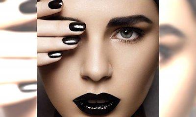 Zoom na usta: makijaż ust w ciemnych kolorach