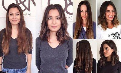W tym roku rządzą fryzury o średniej długości! 17 przykładowych metamorfoz, które inspirują