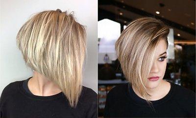 Ta fryzura jest hitem Instagrama! Z pozoru zwykły bob, ale gdy odwróci się głowę... OSTRO!