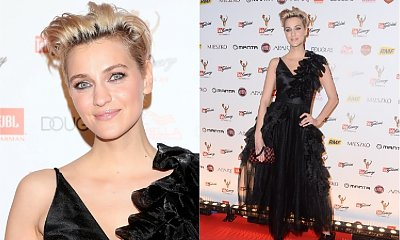 Renata Kaczoruk do eleganckiej sukienki włożyła TAKIE BUTY... Dobrze to wyglądało?