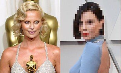Oscary 2019: Charlize Theron przefarbowała włosy na ciemny brąz! Fani załamani: Okropnie, wygląda o wiele starzej