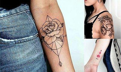 Tatuaż róża - galeria różnorodnych i ultrakobiecych wzorów