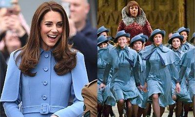 Kate Middleton w stroju rodem jak z Hogwartu po raz pierwszy publicznie mówi o DZIECKU NUMER 4!
