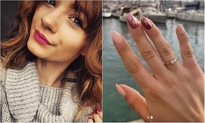 Śliczna córka Adama Małysza właśnie się zaręczyła! Pokazała zdjęcie z przystojnym ukochanym