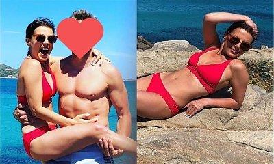 Katarzyna Glinka w bikini na wakacjach ze swoim muskularnym partnerem! WOW, ale CIACHO!