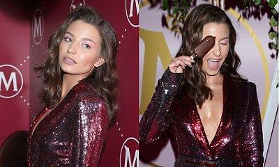 Julia Wieniawa w tej króciutkiej sukience pokazała PUPĘ! Feralne zdjęcie zamieściła jedna z modelek