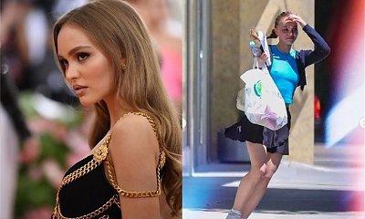 Lily-Rose Depp wyszła na miasto BEZ STANIKA, a internauci kłócą się teraz, czy to seksowne czy wręcz przeciwnie...