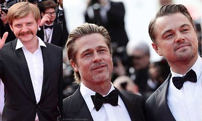 Rafał Zawierucha na czerwonym dywanie obok Brada Pitta i Leonardo DiCaprio! Wielki sukces polskiego aktora!