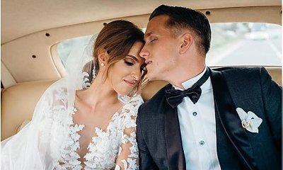 Piotr Zieliński i Laura Słowiak wzięli ślub! Jej suknia ślubna to jedna z piękniejszych, jakie w życiu widziałyście!