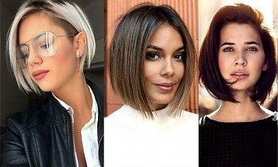 Short bob ponownie na topie - galeria pięknych i stylowych fryzur
