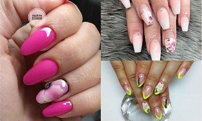 Flower manicure na lato 2019! 25 najpiękniejszych propozycji na kwiatowe hybrydy