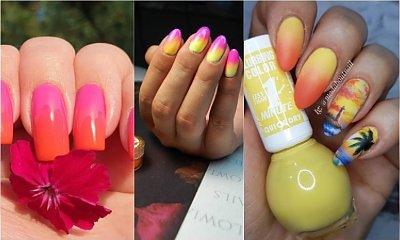 Ombre manicure 2019 na lato! Zobacz 25 najpiękniejszych propozycji na hybrydy ombre