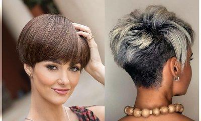 Krótkie fryzury - galeria najnowszych trendów 2019/2020