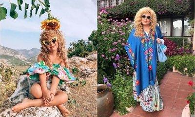 Mama z Turcji charakteryzuje córeczkę na wzór wielkich gwiazd. Ale to podobieństwo wyszło chyba przypadkiem?